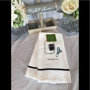 Kate Spade ♠️ How Sweet It Is Towel Set